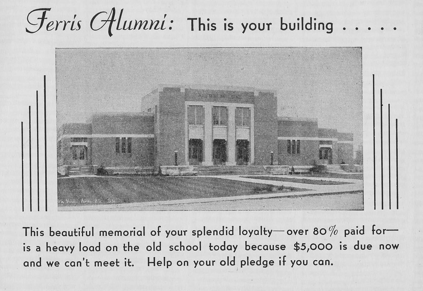 Ferris Alumni Building