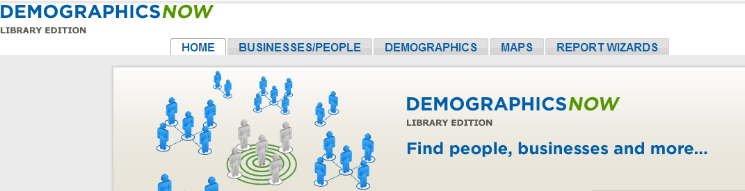 Demographics Now logo