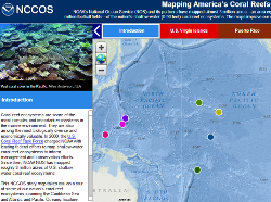 NOAA Storymap on America's Coral Reefs