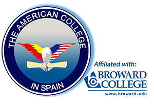 The American College in Spain logo