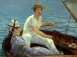 Boating, 1874 Edouard Manet