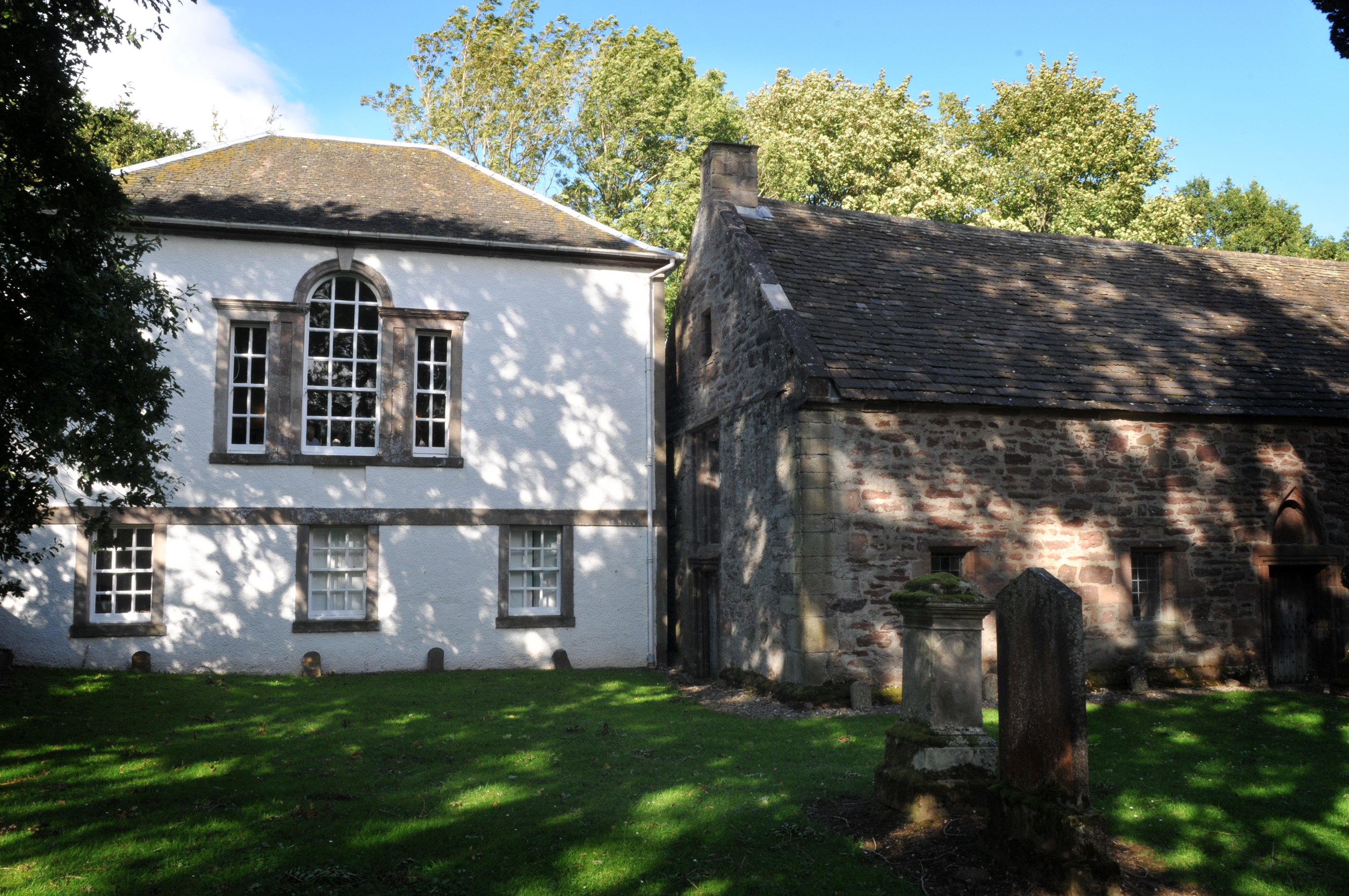 Exterior of Innerpeffray Library