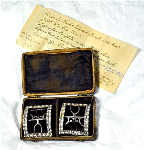 Bonnie Prince Charlie's shoe buckles