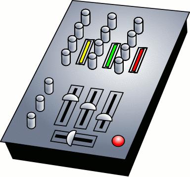 Image of DJ Mixing Equipment