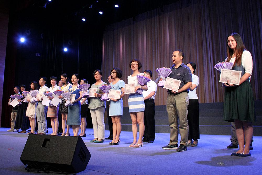 第30个教师节杨益民获校先进表彰