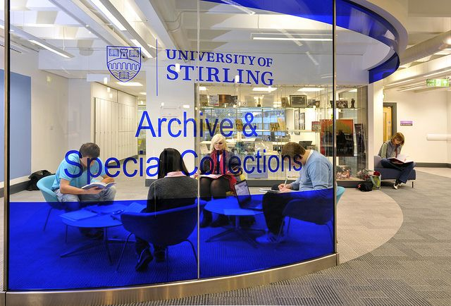 Archives and Special Collections area