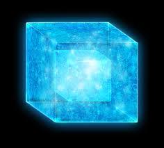 blue tesseract