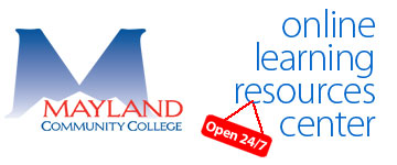 Mayland Community College Online Learning Resources Center