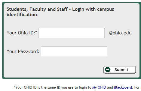 Login to Your Library Account