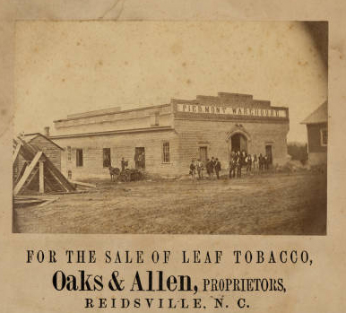 Piedmont Tobacco Warehouse, c.1870
