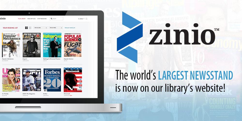 Access Zinio