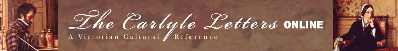 The Carlyle Letters Online