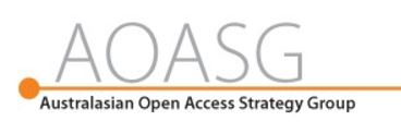 Australiasian Open Access Strategy Group