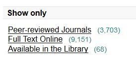Search peer-reviewed