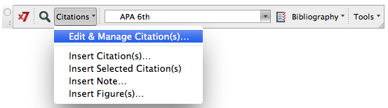 Edit and Manage Citations alternative