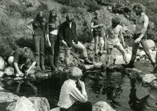Photo of a Forest School Camp, Summer 1970