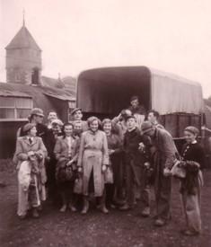 Group from a post-war visit GER visit