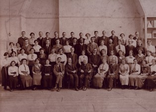 Early staff at the London Day Training College (later the IOE)
