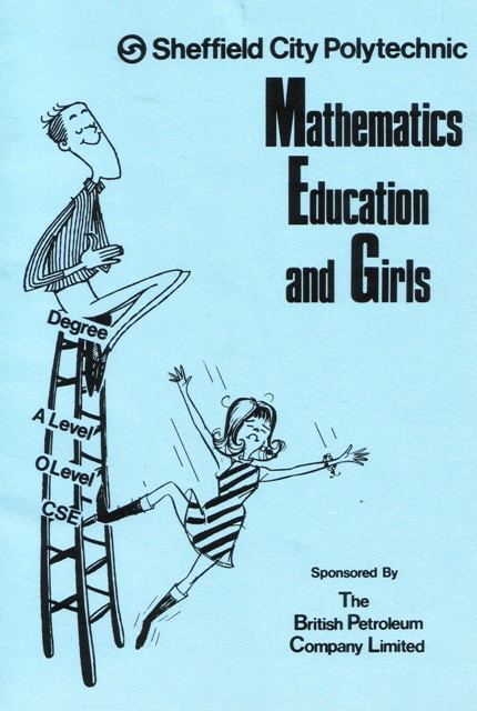 Image of a Sheffield City Polytechnic publication on maths and girls