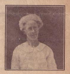 Photograph of Theodora Bonwick, member of the National Union of Women Teachers