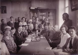 Photo of Teacher's Labour League visit to the Soviet Union, 1926