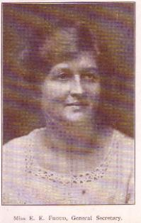 Picture of Ethel Froud, NUWT General Secretary 1917 - 1940