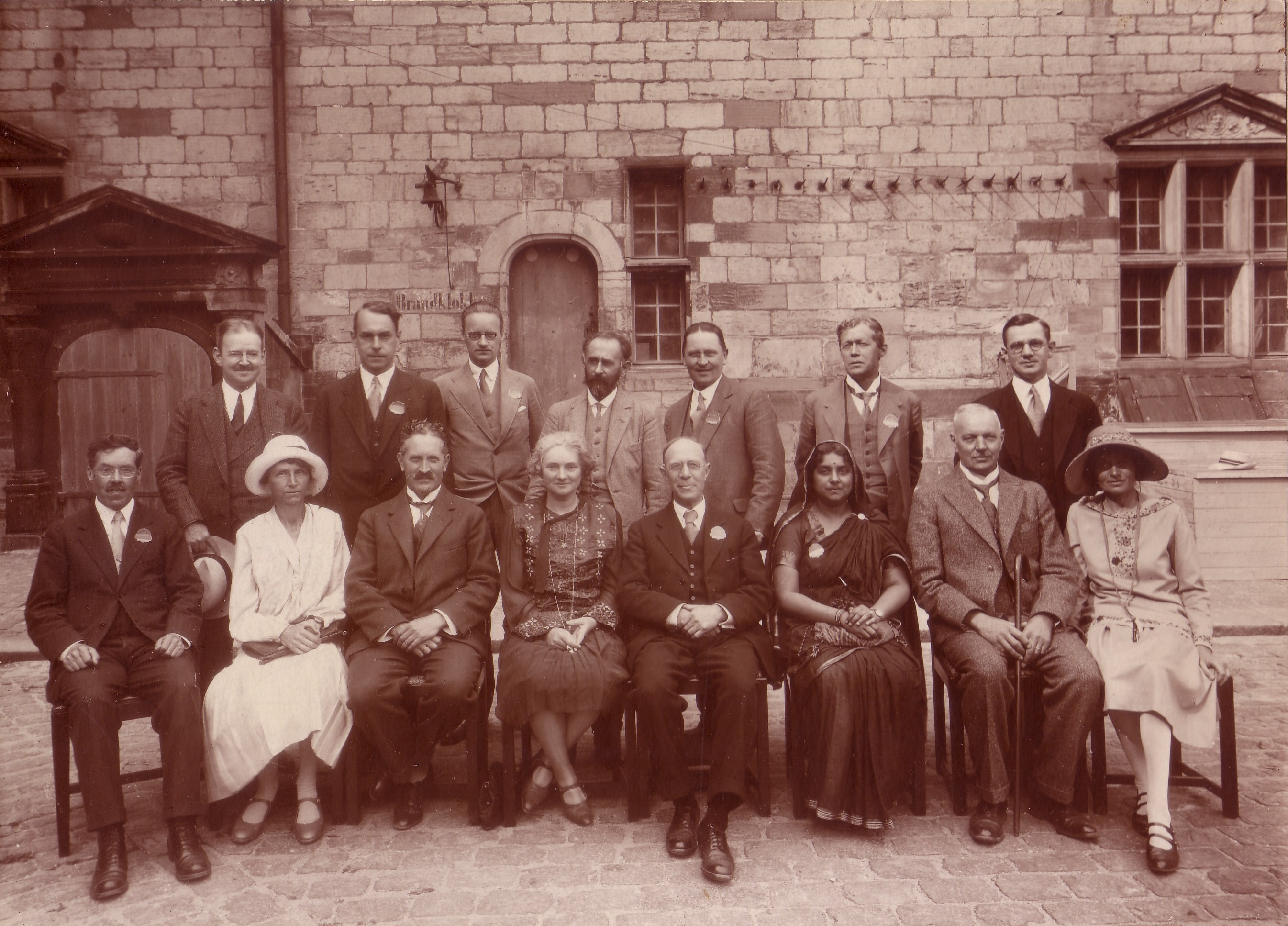 Photograph of members of the WEF