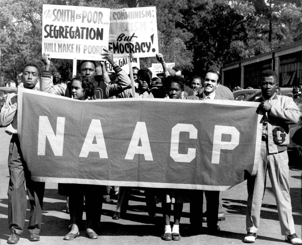 NAACP Youth Demonstrators