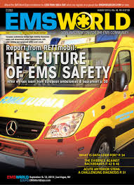 EMS World Magazine Cover