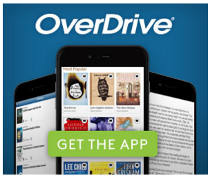 picture of Get the App button from Overdrive