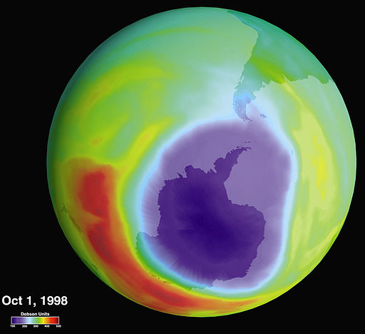 """Hole in the Ozone Layer Over Antarctica"""