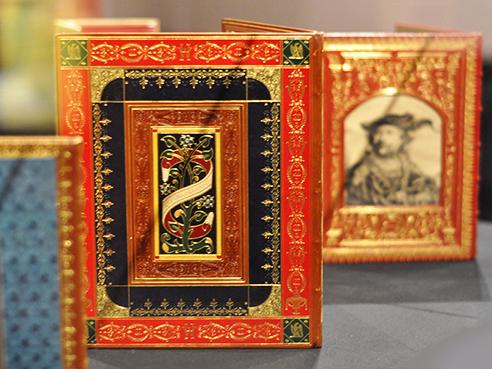 Historical books, Old Royal Palace, Prague Castle, Prague. Photo by Kimberly Vardeman.