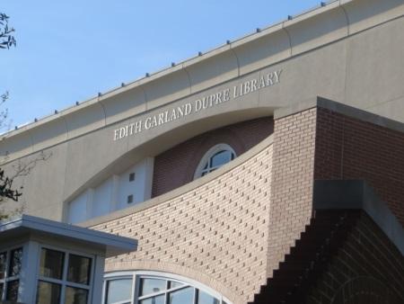 Edith Garland Dupre Library Facade