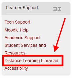 Learner Support Block in Moodle 2.7