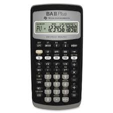 Image result for texas Instruments BA II Plus Financial Calculator