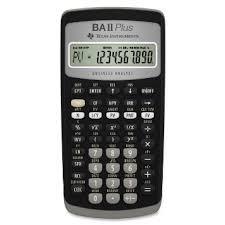 Image result for texas Instruments BA II Plus Financial Calculator
