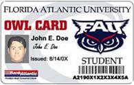 FAU Owl Card