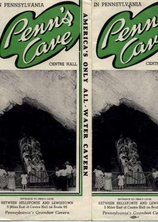 Penn's Cave Brochure