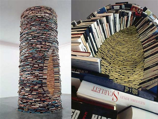 Matej Kren's 'Idiom', Book Tower in Prague Municipal Library