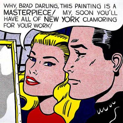 "Lichtenstein, Masterpiece 1962 (""Why Brad, Darling..."")"