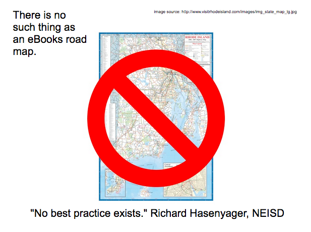 There's no such thing as an eBooks road map