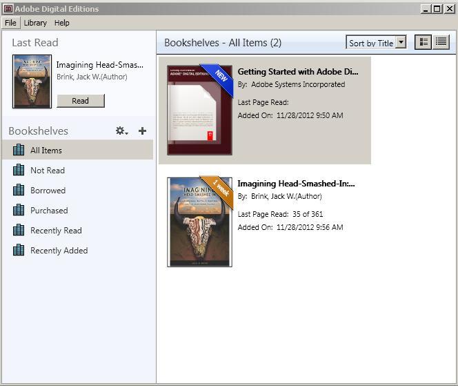 ebooks in adobe digital editions