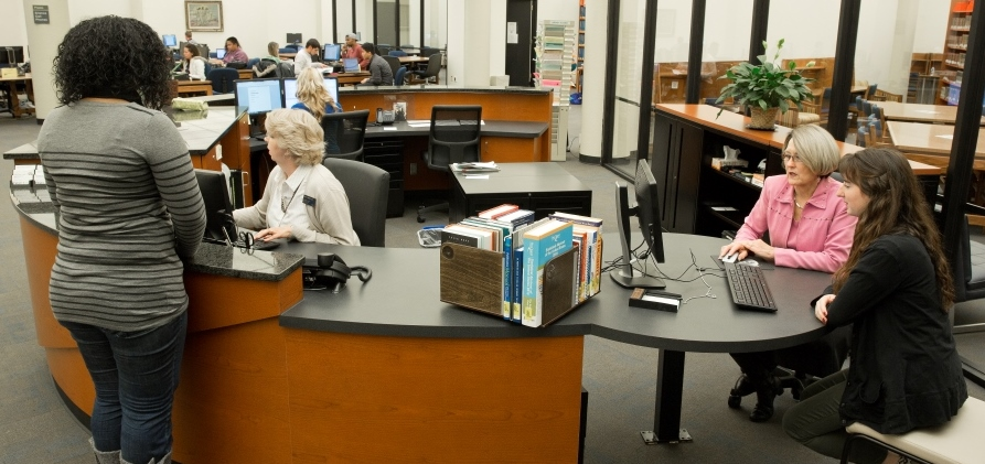 One-Stop Library Services Desk