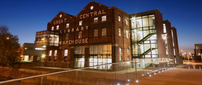 photo of University Library- Great Central Warehouse
