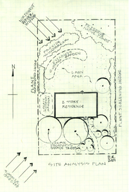 Site Analysis Plan