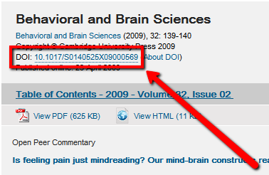 Cambridge Journals Online Persistent Link