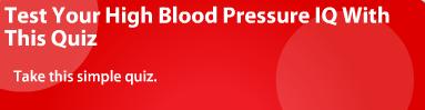 Blood Pressure Quiz