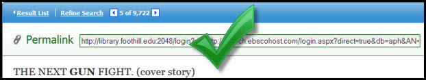 persistent link screen shot