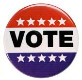 vote badge