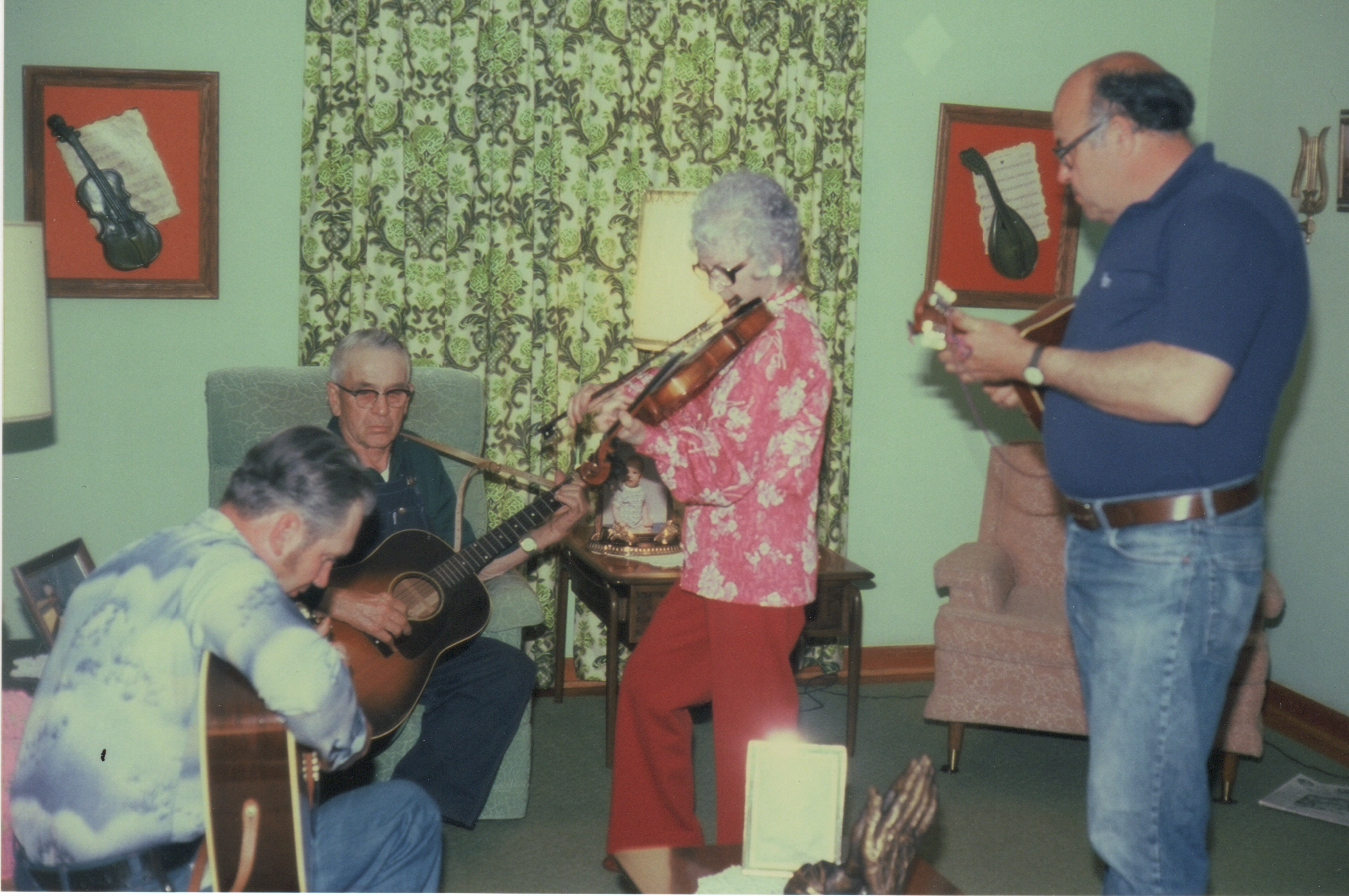 House jam in the late 1960s/early 1970s